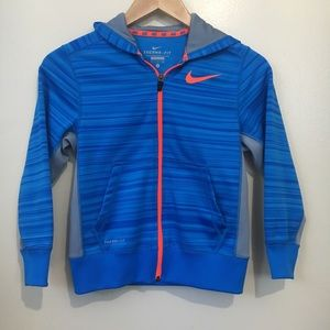 Nike Zip Up Hoodie - Youth Size Small